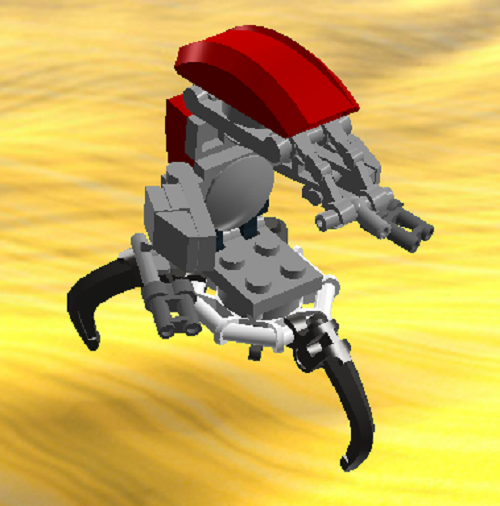 This is my custom droideka